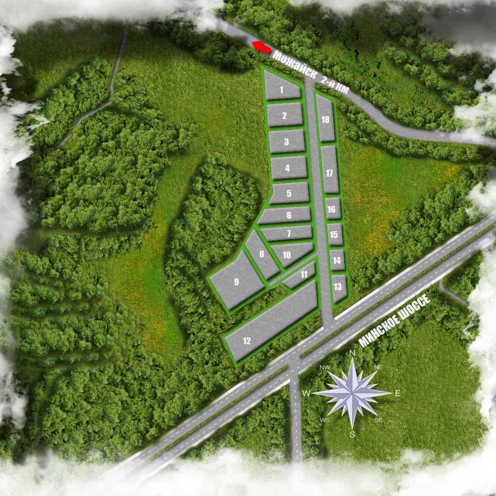 ГенПлан Промышленные Земли