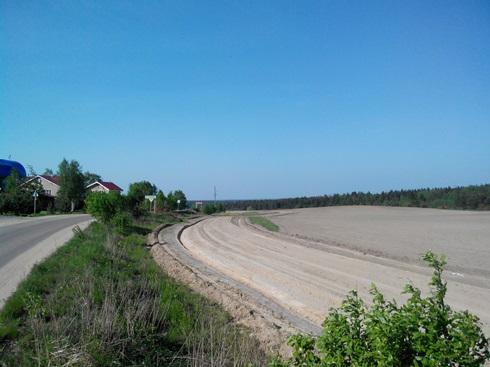 строительство поземной дороги